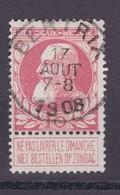 N° 74 BERTRIX - 1905 Grosse Barbe