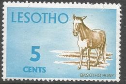 Lesotho. 1971 Definitives. 5c MH. SG 197 - Lesotho (1966-...)