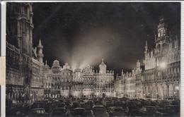 BRUXELLES BRUSSEL Grand Place La Nuit,, Grote Markt   Strafporto Ö Taxe Autriche, - Bruxelles La Nuit