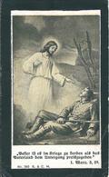 LUTTINO MILITARE: JACOB KOMPATSCHER - Mm. 62 X 103 - Morto A Beneschau (Boemia) Il 13 Agosto 1918 - Religione & Esoterismo