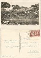Valls D'Andorra Estany De Fontenegre Pas De La Casa B/w Pcard 27oct1954 With F8 Solo - Andorra