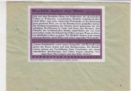 Parole Der Woche No.43/1941  Auf Brief Aus MAGDEBURG 29.10.41 - Deutschland