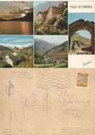 Valls D'Andorra 5 Views Colo Pcard 26jun1964 X Italy With F0,20 Solo - Andorra