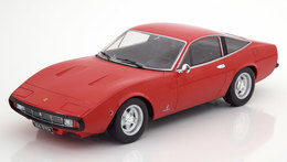 FERRARI 365 GTC4 1971 RED KK-SCALE KKDC180281 1/18 ROSSO ROUGE ROT 1500 PIECES - Voitures, Camions, Bus