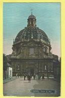 * Scherpenheuvel Zichem - Montaigu (Vlaams Brabant) * église De Face, Basilique, Kerk, Church, Animée, Enfants, Couleur - Scherpenheuvel-Zichem