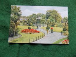 VINTAGE UK: CORNWALL Penzance Morrab Gardens Art A R Quinton Salmon - Angleterre