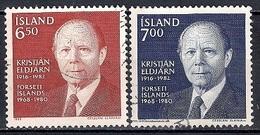 Iceland 1983 - In Memory Of President Kristjan Eldjárn - 1944-... Republik