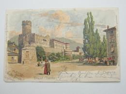 TRIENT , Trento,   Cartolina Postale Um 1900 - Trento