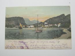 TORBOLE , Trento,   Cartolina Postale Um 1906 - Trento