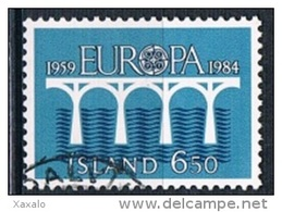 Iceland 1984 - Europa CEPT - 1944-... Republik