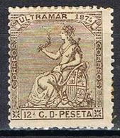 COLONIE ESPAGNOLE CUBA YT 5* - Cuba (1874-1898)