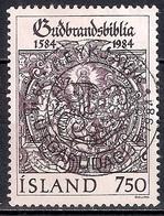Iceland 1984 - The 400th Anniversary Of The Bible Gudbrandsbibelen - 1944-... Republik