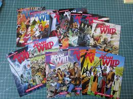 Lotto 26 Cartoline SERIE COMPLETA Adam Wild 1/26 Fumetti BD Comics Bonelli - Fumetti