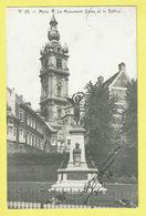 * Mons - Bergen (Hainaut - La Wallonie) * (Edit A. Duwez Delcourt 15325, Nr 25) Monument Dolez Et Belfroi, Statue - Mons