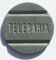 Brasil Telephone Token  TELEBAHIA  Telecomunicações Da Bahia - Noodgeld