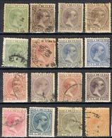 COLONIE ESPAGNOLE CUBA YT  76-92 - Cuba (1874-1898)