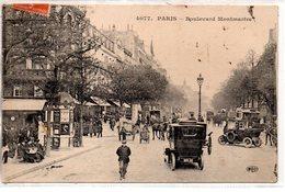 Paris :Boulevard Montmartre - France