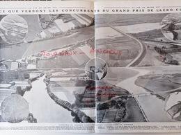 1912 GRAND PRIX DE L'AÉRO-CLUB - SAMU - CHOLET - ANGERS - LES CÔTE AUX DU LAYONS - BOUCHEMAINE - Livres, BD, Revues