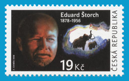 CZ 2018-0976 Eduard Storch, Write, CZECH, 1 X 1v, MNH - Tchéquie