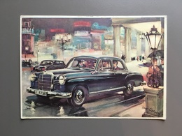 MERCEDES BENZ 190 - Illustrateur - Cartes Postales