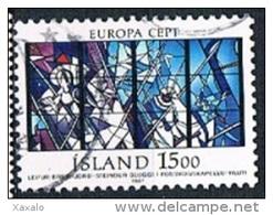 IIceland 1987 - Europa CEPT - Modern Architecture - 1944-... Republik