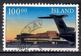 Iceland 1987 - New Terminal In Keflavik Airport - 1944-... Republik