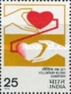 USED STAMPS India - Voluntary Blood Donation -  1976 - India