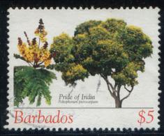 Barbados 2005 Trees $5 Fine Used - Barbados (1966-...)