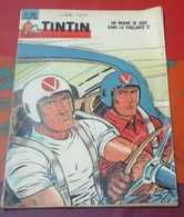 Journal De Tintin N°690 Janvier 1962 Porte Avions Atomique USS Enterprise,Kurdistan,Cabriolet Fiat 1500 S - Tintin