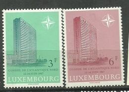 IVERT Nº702/03**1967 - Luxemburgo