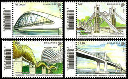 Singapore 2009: Ponti (cong. Filippine) / Bridges (joint Issue With Philippines) ** - Bridges