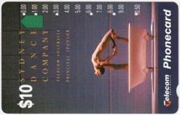 AUSTRALIA A-153 Optical Telecom - Culture, Modern Dance - Used - Australia