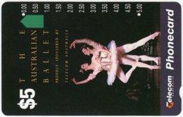 AUSTRALIA A-154 Optical Telecom - Culture, Dance, Ballet - Used - Australia