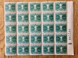 Polen Poland 1938, 25x Postage Due / Porto / Timbre-taxe / Segnatasse **, MNH - Strafport