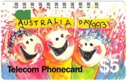 AUSTRALIA A-200 Optical Telecom - Event, Australia Day - Used - Australia
