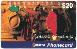 AUSTRALIA A-201 Optical Telstra - Occasion, Christmas - Used - Australia