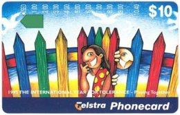 AUSTRALIA A-204 Optical Telstra - Cartoon - Used - Australia