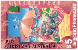 AUSTRALIA A-345 Optical Telecom - Occasion, Christmas - Used - Australia