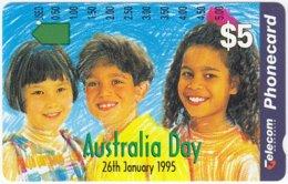 AUSTRALIA A-377 Optical Telecom - Occasion, Australia Day - Used - Australia