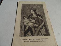 Image Pieuse De La Paroisse De Janze Souvenir De La Mission 1949 - Frankreich