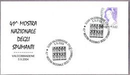 Exposicion De VINOS ESPUMOSOS - Exposicion Of Sparkling Wine. Valdobbiadene, Treviso, 2004 - Vinos Y Alcoholes