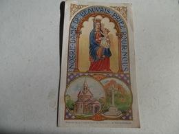 Image Pieuse De La Chapelle N.D. De Beauvais - Le Theil De Bretagne 1943 Imp.fertard Janze - Frankreich