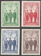 Australia. 1940 Australian Imperial Forces. MH Complete Set. SG196-199 - 1937-52 George VI