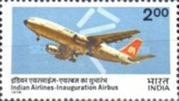 USED STAMPS India - Inauguration Of Indian Airlines' Airbus  -  1976 - India