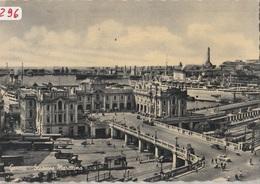 """(296) Cartolina """" GENOVA- STAZIONE MARITTIMA  Formato GRANDE-    Viaggiata - Genova (Genoa)"""