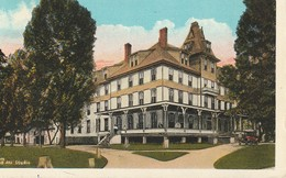 Unidentified New England Inn Or Hotel, Possibly Springfield, Massachusetts - Buildings & Architecture
