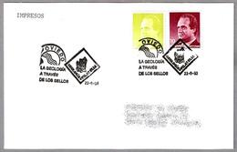 LA GEOLOGIA A TRAVES DE LOS SELLOS - Geology Through Stamps. Oviedo, Asturias, 1993 - Geología