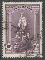 Australia. 1937-49 KGVI. 10/- Used. SG 176 - 1937-52 George VI