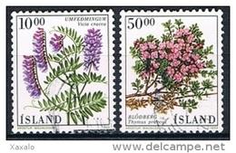 Iceland 1988 - Flowers - 1944-... Republik