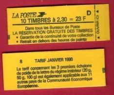 CARNET 2614 C2   Cote: 40 € - Usados Corriente